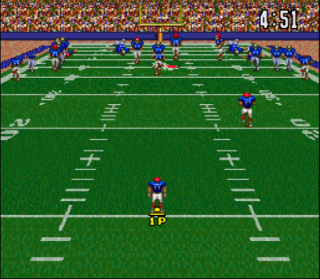 Super Nintendo ABC Monday Night Football