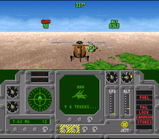 Super Nintendo Air Cavalry