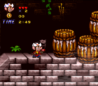Super Nintendo An American Tail - Fievel Goes West