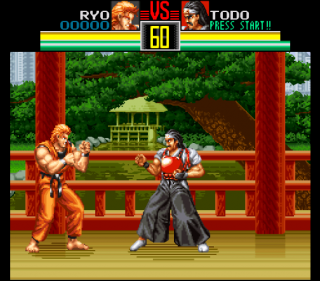 Super Nintendo Art of Fighting