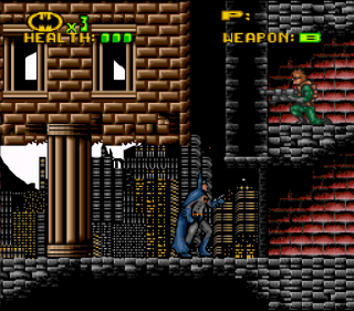 Super Nintendo Batman - Revenge of the Joker