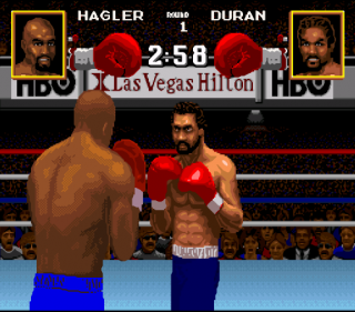 Super Nintendo Boxing Legends of the Ring