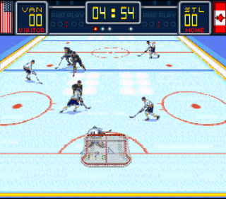 Super Nintendo Brett Hull Hockey