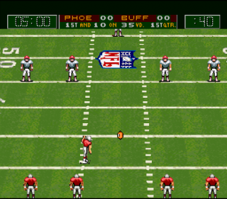 Super Nintendo Capcom&#39s MVP Football