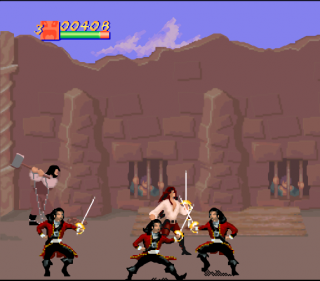 Super Nintendo Cutthroat Island