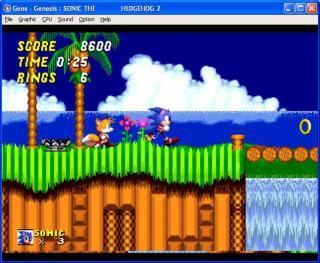 Sega Genesis Sonic The Hedgehog 2
