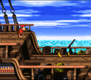 Super Nintendo Donkey Kong Country 2 - Diddy&#39s Kong Quest