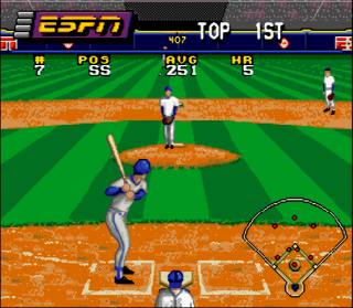 Super Nintendo ESPN Baseball Tonight