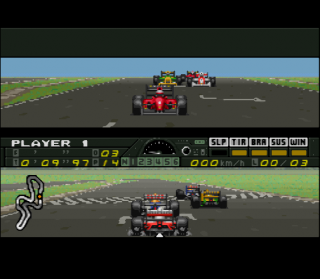 Super Nintendo F1 Pole Position