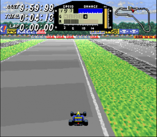 Super Nintendo F1 ROC - Race of Champions