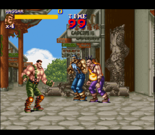 Super Nintendo Final Fight 2