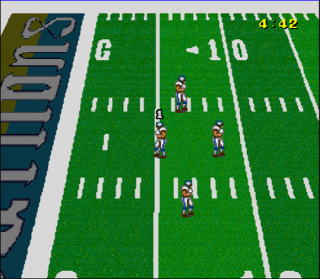 Super Nintendo Football Fury