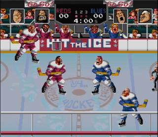 Super Nintendo Hit the Ice