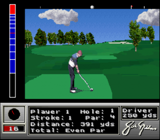 Super Nintendo Jack Nicklaus Golf