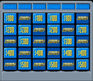 Super Nintendo Jeopardy!