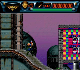 Super Nintendo Judge Dredd