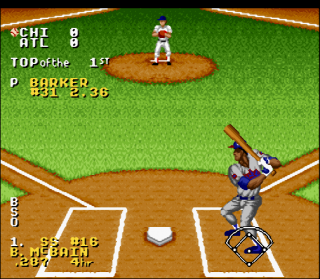 Super Nintendo Ken Griffey Jr. Presents Major League Baseball