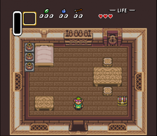 Super Nintendo Legend of Zelda, The - A Link to the Past