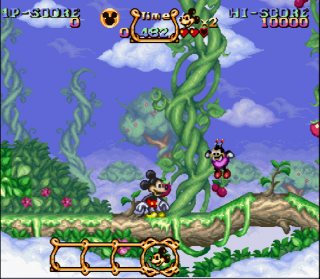Super Nintendo Magical Quest Starring Mickey Mouse