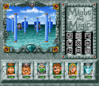 Super Nintendo Might and Magic III - Isles of Terra
