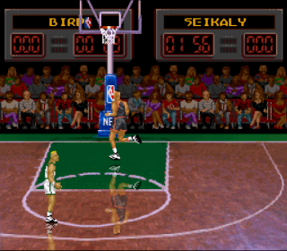Super Nintendo NBA All-Star Challenge