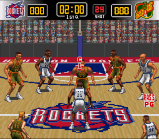 Super Nintendo NBA Give &#39N Go