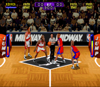 Super Nintendo NBA Hang Time
