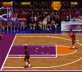 Super Nintendo NBA Jam - Tournament Edition