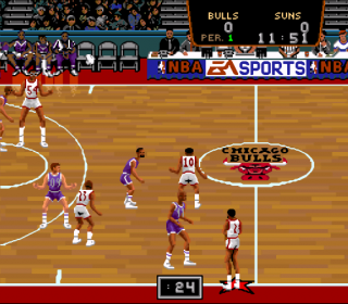 Super Nintendo NBA Showdown