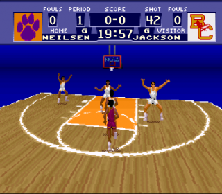 Super Nintendo NCAA Basketball