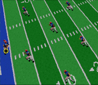Super Nintendo NFL Football
