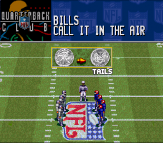 Super Nintendo NFL Quarterback Club