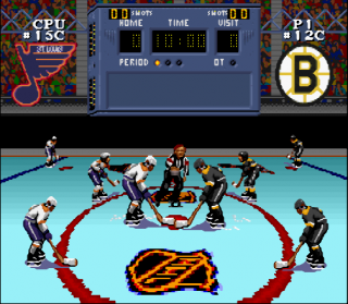 Super Nintendo NHL Stanley Cup
