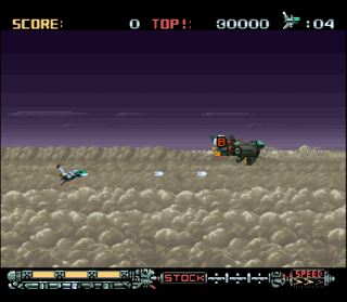 Super Nintendo Phalanx - The Enforce Fighter A-144