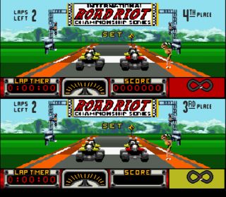 Super Nintendo Road Riot 4WD