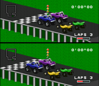 Super Nintendo RPM Racing