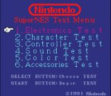 SNES Test Program