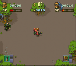 Super Nintendo Soldiers of Fortune