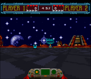 Super Nintendo Space Football - One on One