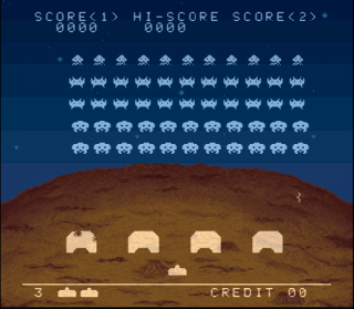 Super Nintendo Space Invaders