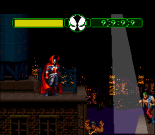 Super Nintendo Spawn