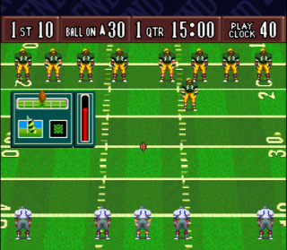 Super Nintendo Sterling Sharpe - End 2 End