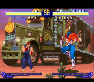 Super Nintendo Street Fighter Alpha 2