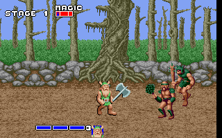 DOS Golden Axe