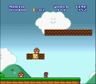 Super Nintendo Super Mario All-Stars