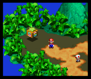 Super Nintendo Super Mario RPG - Legend of the Seven Stars