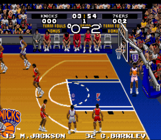 Super Nintendo Tecmo Super NBA Basketball