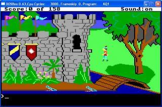 DOS Kings Quest I Quest For The Crown