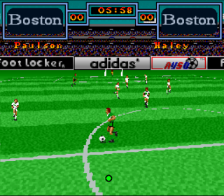 Super Nintendo Tony Meola&#39s Sidekicks Soccer