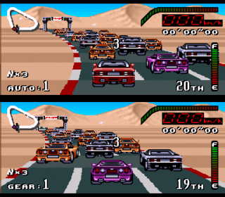Super Nintendo Top Gear